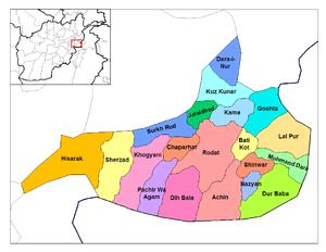 Shinwar District lies on the main road between...