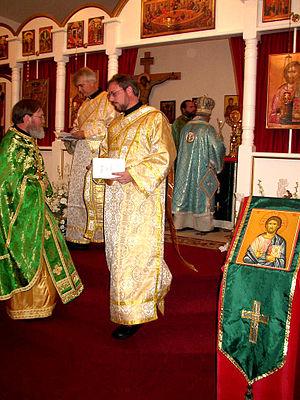 Orthodox clergy (Bishop, Priest, deacon)/ 正教会の...