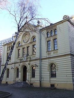 PL Warsaw Synagoga Twarda front.jpg