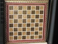 صف�هٔ خاتمکاری شطرنج، کار اصفهان