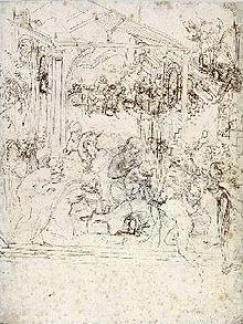 Adorazione dei Magi Leonardo  Wikipedia