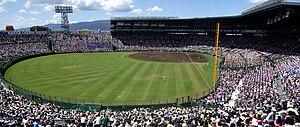 Le Koshien Stadium en 2007