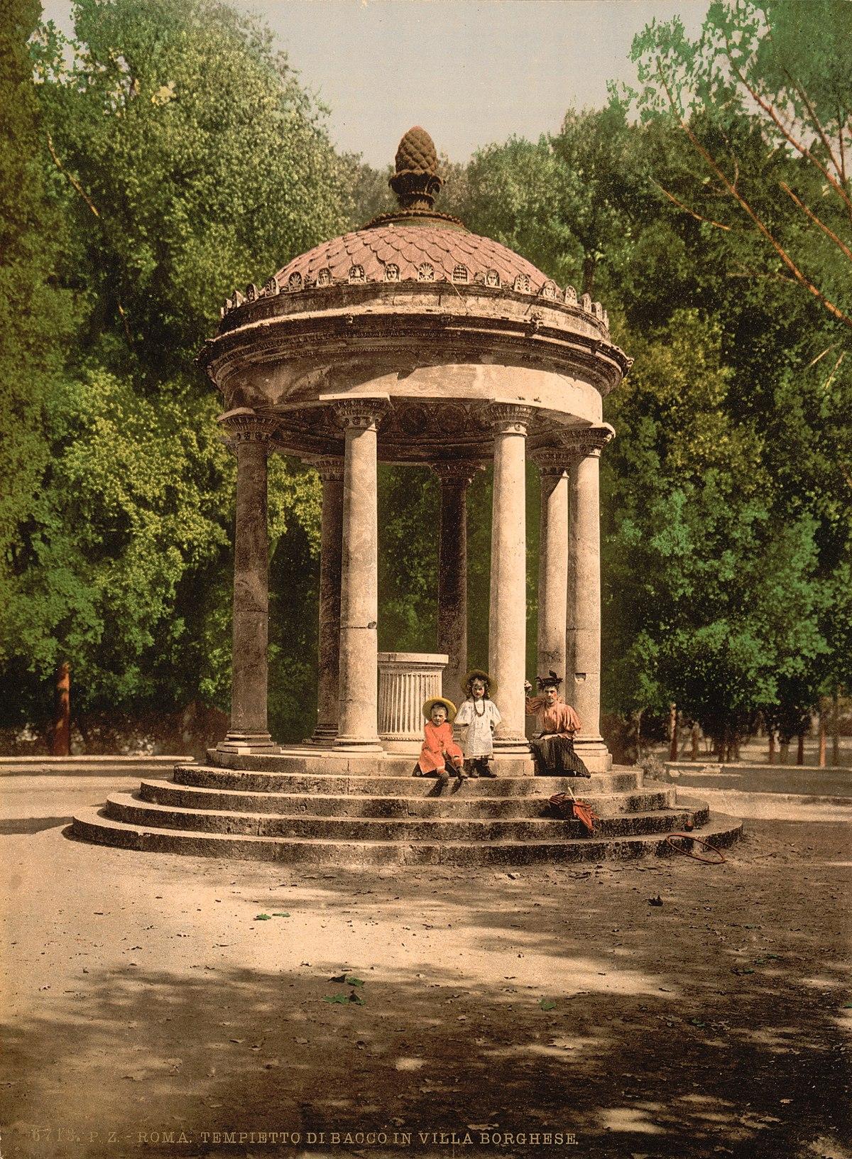 Tempio di Diana Villa Borghese  Wikipedia