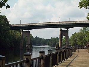 Waccamaw River Memorial Bridge, June 2010