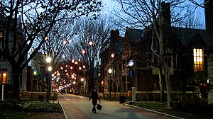 Winter at UPenn