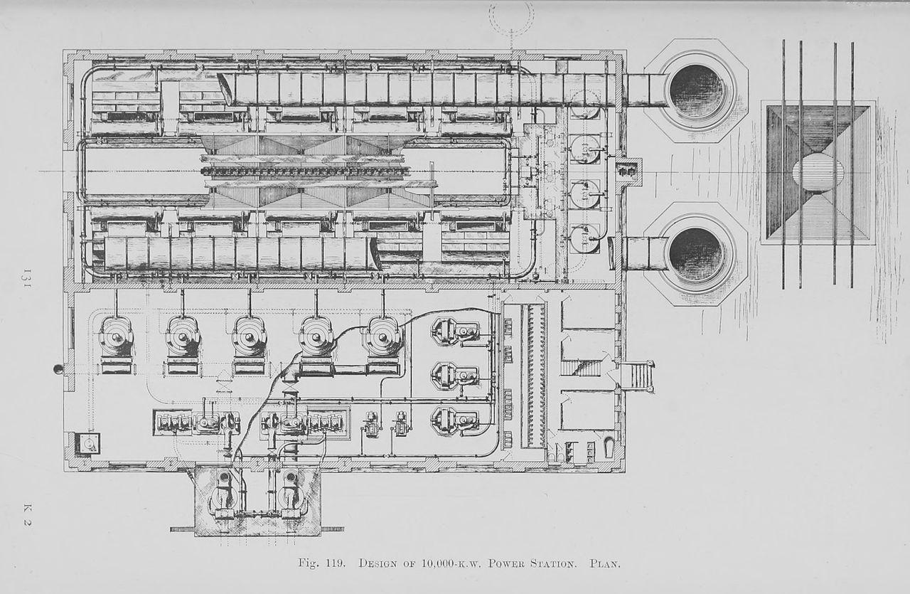 File:119. Design of 10,000 k.w. Power Station.jpg