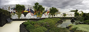 Mosaik, Fundacion, Cesar Manrique, Lanzarote