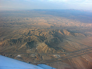 Aerial view South of Mashhad