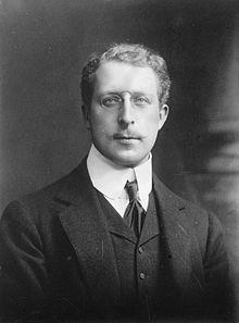 Le roi Albert Ier de Belgique