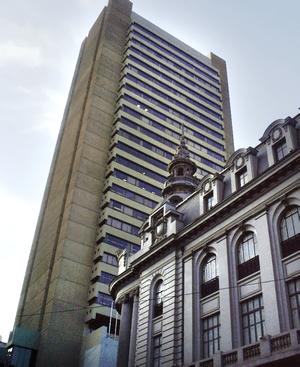 Español: Edificio del Banco Central de Bolivia...