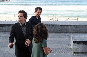 English: Ben Stiller together with Robert Down...