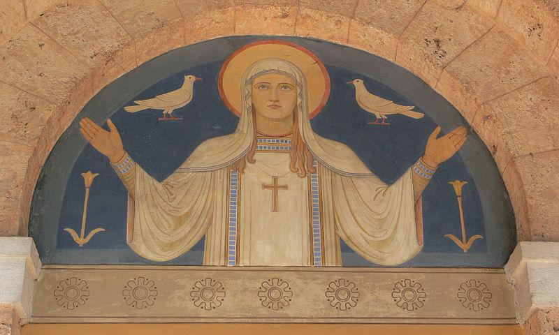 File:Beuron Abteikirche Vorhalle 2.jpg