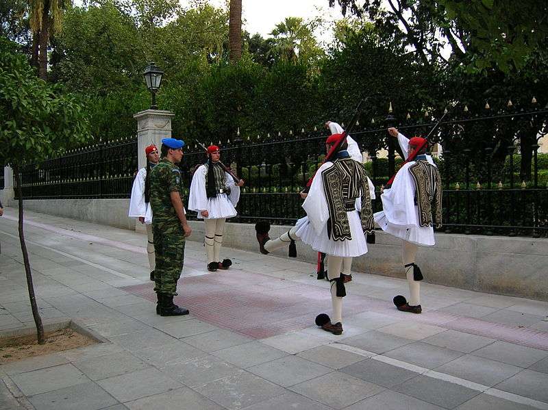 File:Evzone Presidential Palace Athens Change 1.jpg