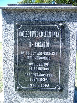 Genocidio armenio Rosario 1