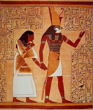 English: Egypt God Horus Deutsch: Ägyptischer ...
