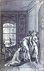 Justine Ou Les Malheurs De La Vertu : justine, malheurs, vertu, File:Justine, Malheurs, Vertu, (ménage, Trois, 2).jpg, Wikimedia, Commons