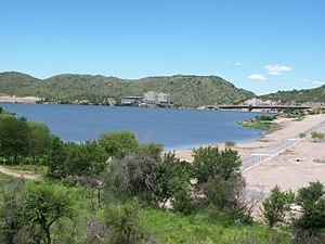 Lake Potrero de los Funes