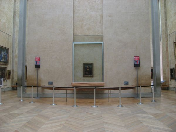Mona Lisa Room Louvre