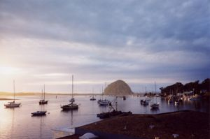 Morro Bay Docks, California.