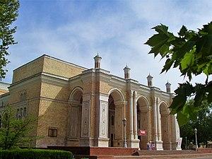 Tashkent (Uzbekistan) : Navoï theater Deutsch:...