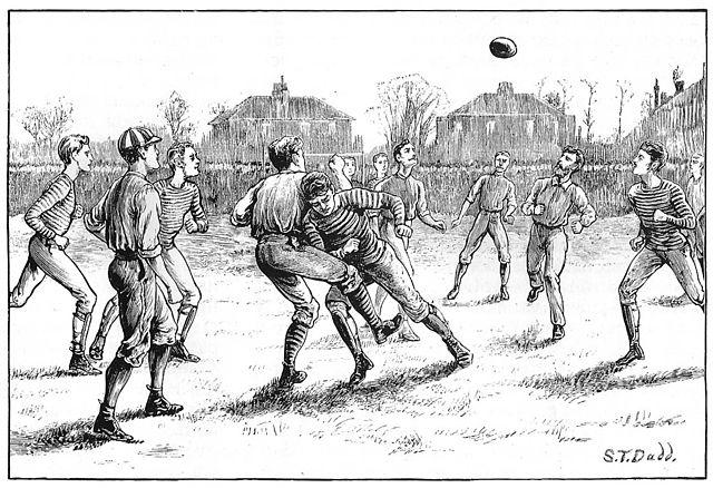 Illustration: British Association Football Match (1871