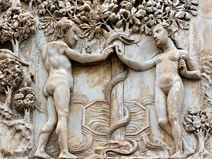 English: Genesis : Adam and Eve, the original ...