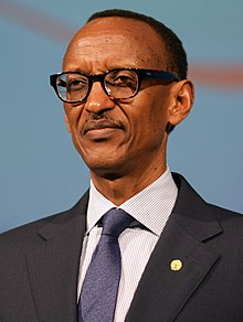 Paul Kagame in kigali, Rwanda, 22 August 2016.