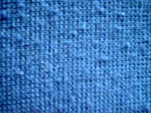 Pills on a knit fabric