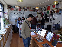 Record Store Day 2014 at Drift Records, Totnes.
