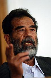 Saddam Hussein (2005).