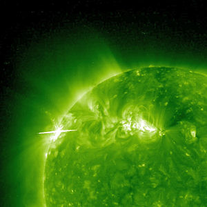 Solar Flare and Coronal Mass Ejection 2010-02-...