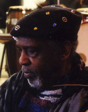 English: Sun Ra at New England Conservatory, F...