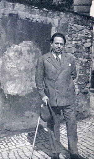 Kurt Tucholsky in Paris, 1928. Deutsch: Tuchol...