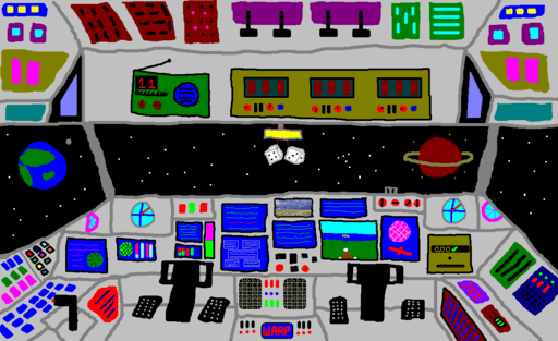 WP Space Ship Control Panel