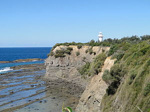 English: Warden Head Lighthouse at Ulladulla, ...