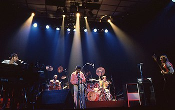 English: Weather Report performing in 1980