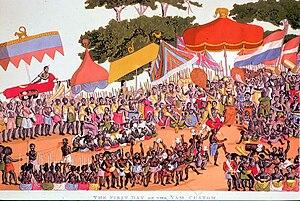 Yam Ceremony, Ashanti
