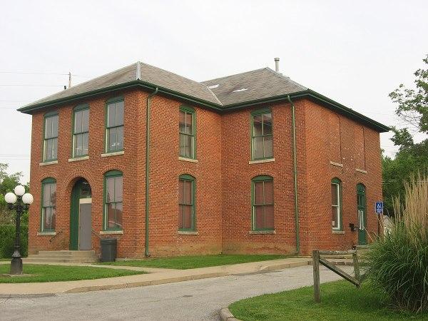 Booker T. Washington School Rushville Indiana - Wikipedia