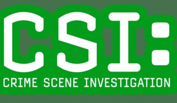 English: Logo of CSI Nederlands: Logo van CSI