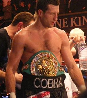 British boxer Carl Froch