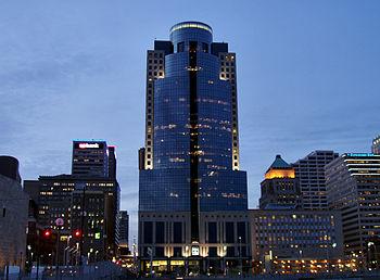 The Scripps Center in Cincinnati, Ohio, corpor...