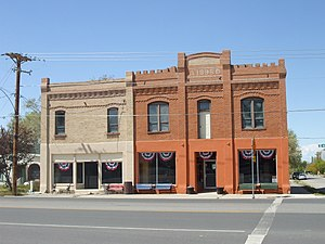 The Johnson Hall-Deseret Mercantile Building, ...