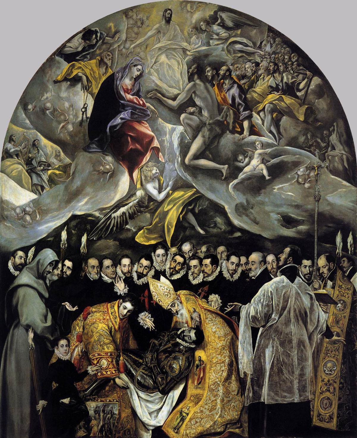 Enterrement Du Comte D Orgaz : enterrement, comte, orgaz, L'Enterrement, Comte, D'Orgaz, Wikipédia
