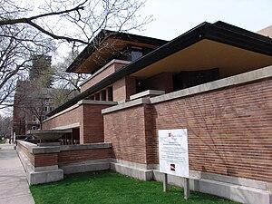 Frank Lloyd Wright  Robie House 3JPG
