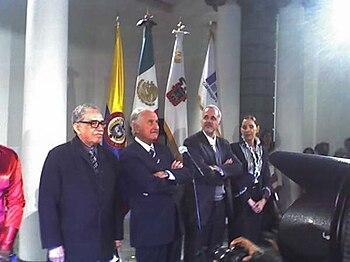 Español: Carlos Fuentes, Gabriel García Márque...