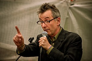 John Hegley in action