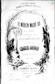 Le Medecin Malgre Lui Theatre : medecin, malgre, theatre, Médecin, Malgré, (Gounod), Wikipédia