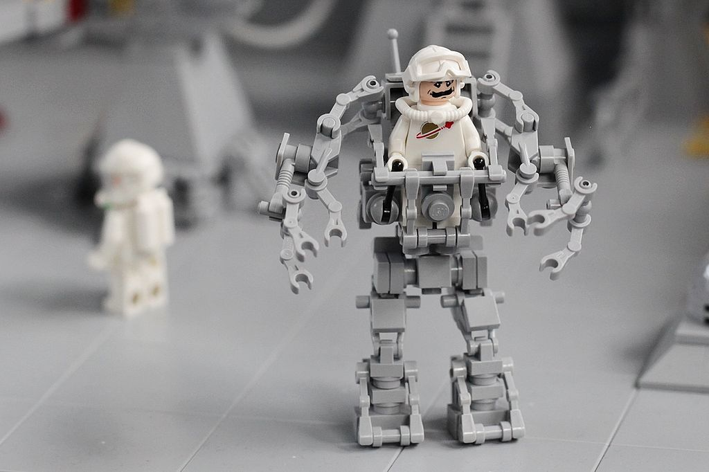 Sci Fi Wallpaper Hd File Lego Neo Classic Space Small Exo Suit Bricking