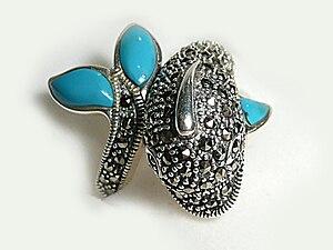 Silver jewelry from Midyat - Turkey.