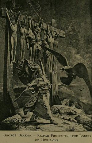 Painting of a Biblical scene